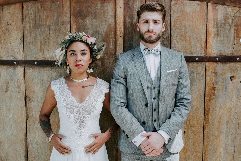 Mariage Intime en Normandie